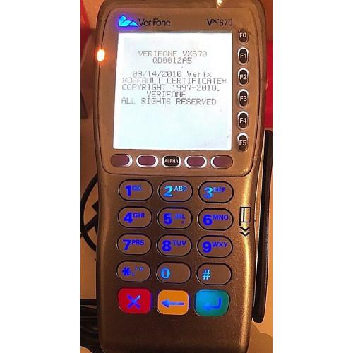 Verifone VX670 GPRS Payment Terminal Card Reader Pos TPE **Unblocked**